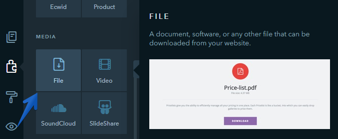 How Do I Add a File That Can Be Downloaded by Users - uKit Knowledge