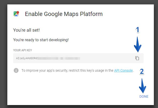 How Do I Get an API Key for Google Maps - uKit Knowledge Base
