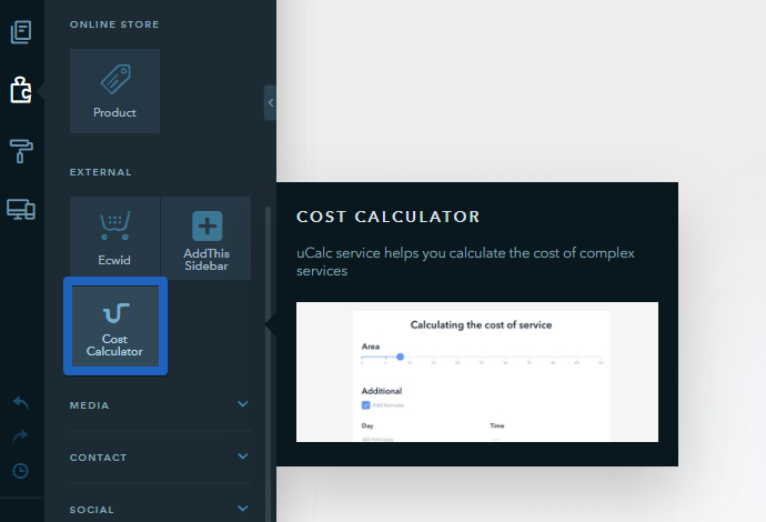 The Cost Calculator Widget Allows To Create A Form For Calculating Of Products And Services Includes Online Payment Feature Sends You