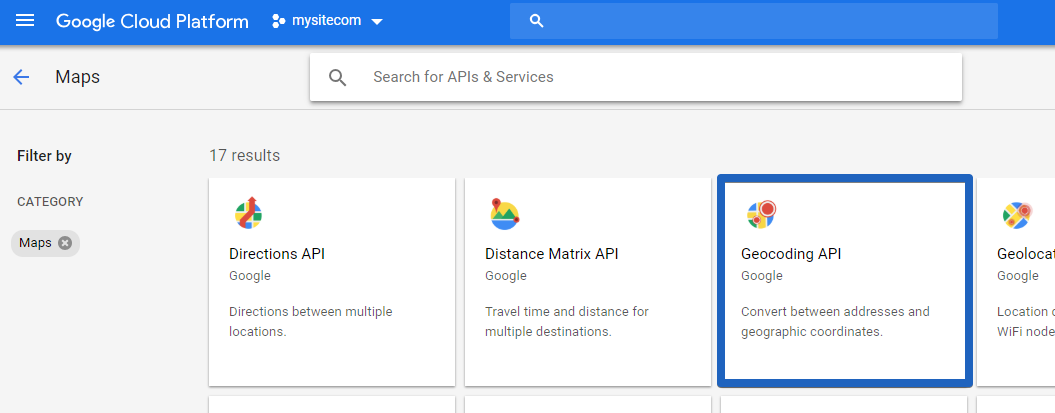 How Do I Get an API Key for Google Maps - uKit Knowledge Base